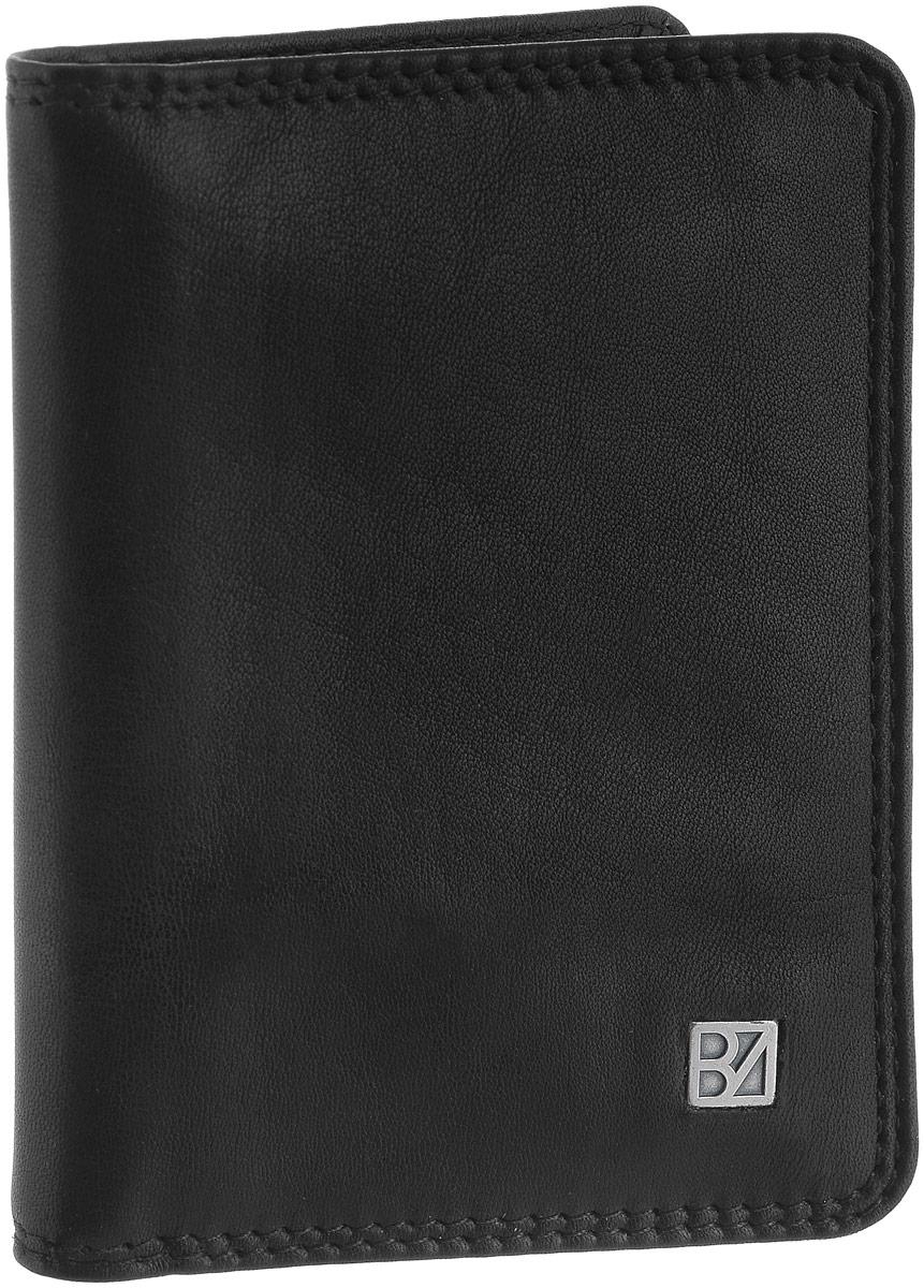 Визитница мужская Bodenschatz, цвет: черный. 8-8358-835 blackВизитница Bodenschatz выполнена из натуральной кожи и оформлена пластинкой из латуни с логотипом бренда. Внутри расположены два боковых кармана с сетчатыми окошками. Также внутри находится съемный блок с восемью файлами для пластиковых карт. Изделие упаковано в фирменную коробку.