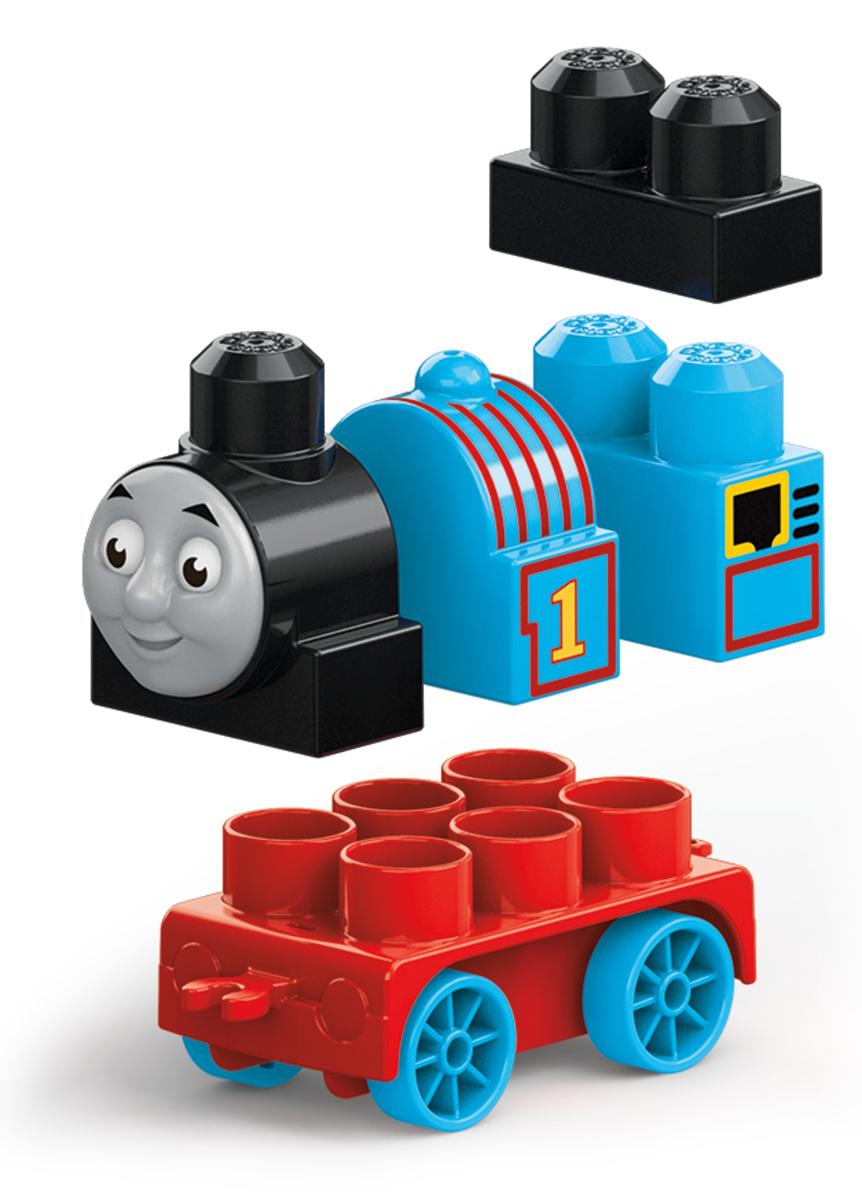 Mega Bloks Паровозик DXH47_DXH48DXH47_DXH48Погрузитесь в новые приключения всеми любимых друзей-паровозиков! Такими своих любимых друзей ты не видел никогда! Даже самые юные поклонники Томаса могут собрать Томаса, Джеймса и Перси, дружных персонажей из мультфильма Томас и его друзья, с новыми крупными блоками и колесными базами. Не спеша прокатись вокруг острова Содор и отправь паровозики вперед на полной скорости. Или соедини их вместе, чтобы игра стала еще веселее! Продаются отдельно. Герои, оформление и детали могут отличаться от изображения. Подходит для детей от года до пяти лет.