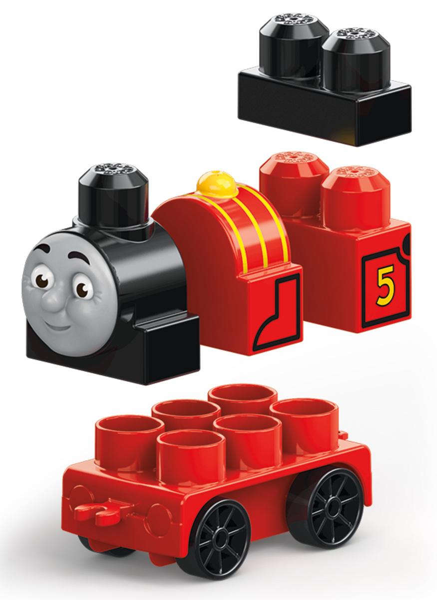 Mega Bloks Паровозик DXH47_DXH50DXH47_DXH50Погрузитесь в новые приключения всеми любимых друзей-паровозиков! Такими своих любимых друзей ты не видел никогда! Даже самые юные поклонники Томаса могут собрать Томаса, Джеймса и Перси, дружных персонажей из мультфильма Томас и его друзья, с новыми крупными блоками и колесными базами. Не спеша прокатись вокруг острова Содор и отправь паровозики вперед на полной скорости. Или соедини их вместе, чтобы игра стала еще веселее! Продаются отдельно. Герои, оформление и детали могут отличаться от изображения. Подходит для детей от года до пяти лет.