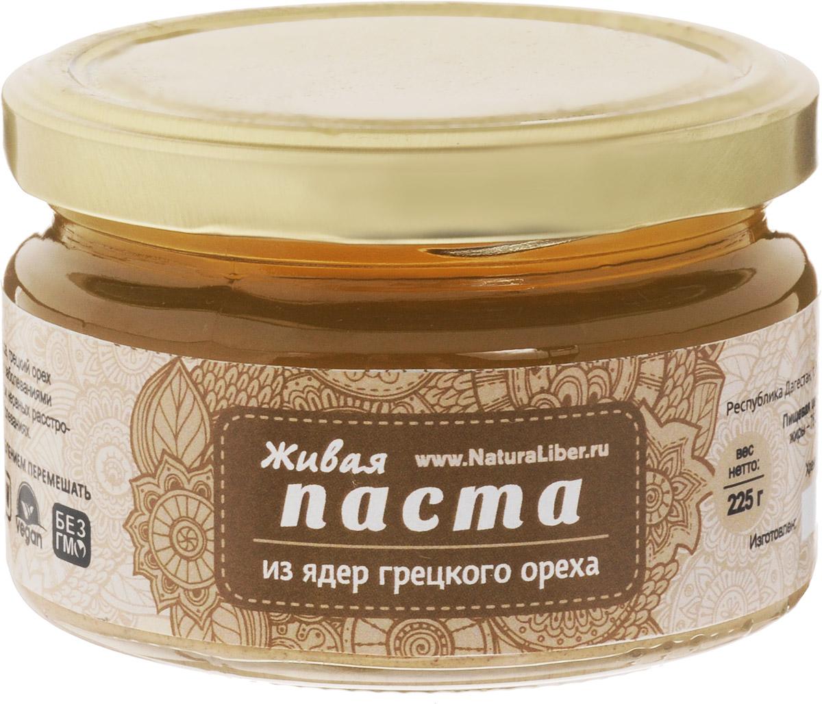 NaturaLiber паста из ядер грецкого ореха, 225 г 00-00000142