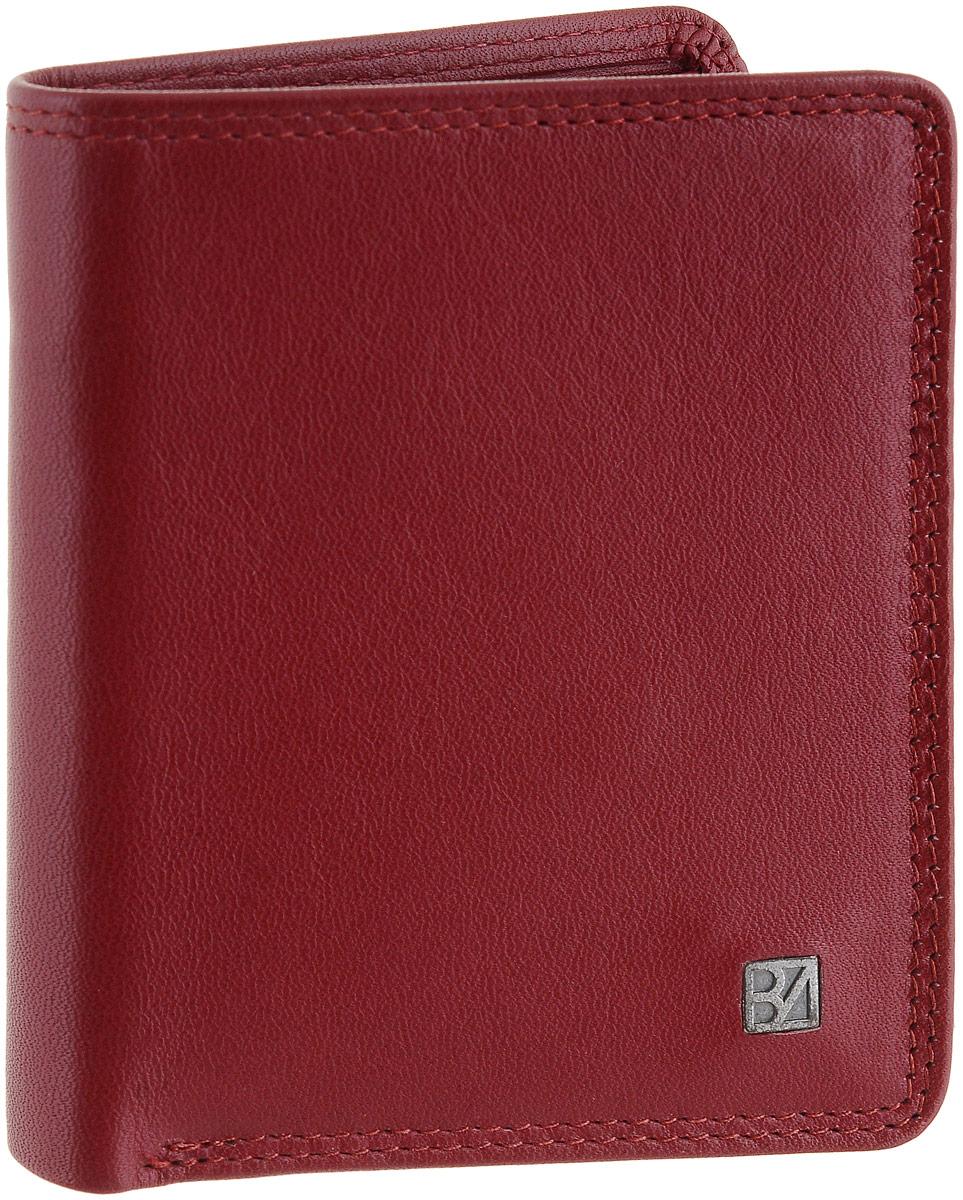 Кошелек женский Bodenschatz, цвет: темно-красный. 8-8418-841 redКошелек Bodenschatz выполнен из натуральной кожи и оформлен пластинкой из латуни с логотипом бренда. Внутри расположены одно отделение для купюр, десять прорезных карманов и потайной карман. Изделие упаковано в фирменную коробку.