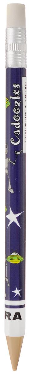 Zebra Карандаш чернографитный Fun цвет корпуса темно-фиолетовый829044_темно фиолетовыйЧернографитный карандаш Zebra Fun идеален для письма и черчения. Корпус карандаша дополнен ластиком. Мягкое комфортное письмо и тонкие линии при написании принесут вам максимум удовольствия. Компактный размер карандаша идеально подходит для маленьких детских рук. Яркая оригинальная расцветка выделит карандаш среди других канцелярских предметов на столе вашего ребенка.