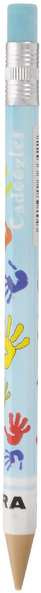 Zebra Карандаш чернографитный Fun цвет корпуса голубой829044_голубойЧернографитный карандаш Zebra Fun идеален для письма и черчения. Корпус карандаша дополнен ластиком. Мягкое комфортное письмо и тонкие линии при написании принесут вам максимум удовольствия. Компактный размер карандаша идеально подходит для маленьких детских рук. Яркая оригинальная расцветка выделит карандаш среди других канцелярских предметов на столе вашего ребенка.