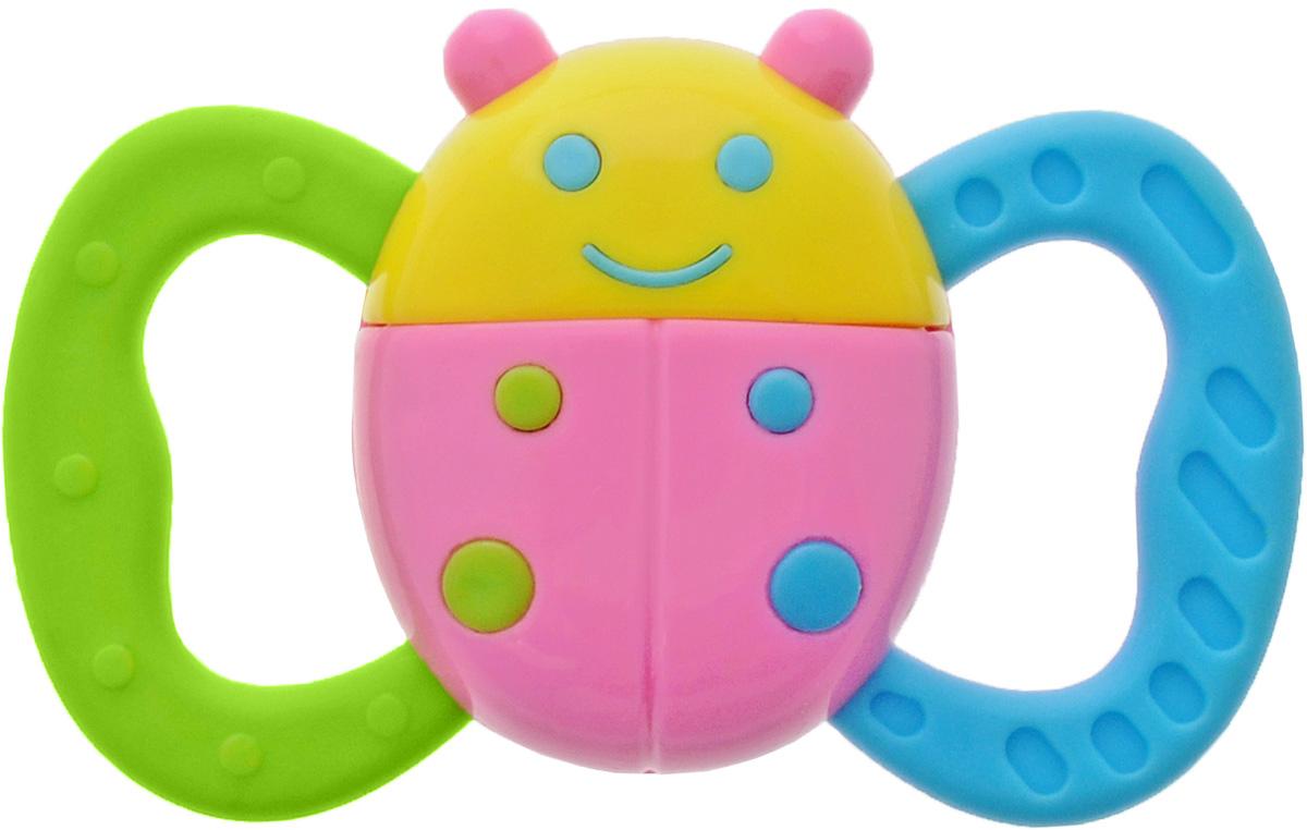 Mommy Love Развивающая игрушка ЖучокWD3317Развивающая игрушка Mommy Love Жучок приведет в восторг вашего малыша. Игрушка выполнена из высококачественного и безопасного материала в виде милого жучка. По бокам у жучка расположены крылышки в виде двух прорезывателей. Игрушка способствует развитию моторных, логических навыков и визуального восприятия малыша. Порадуйте ребенка таким замечательным подарком!