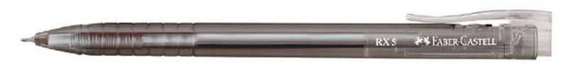 Faber-Castell Ручка шариковая RX-5 цвет корпуса черный