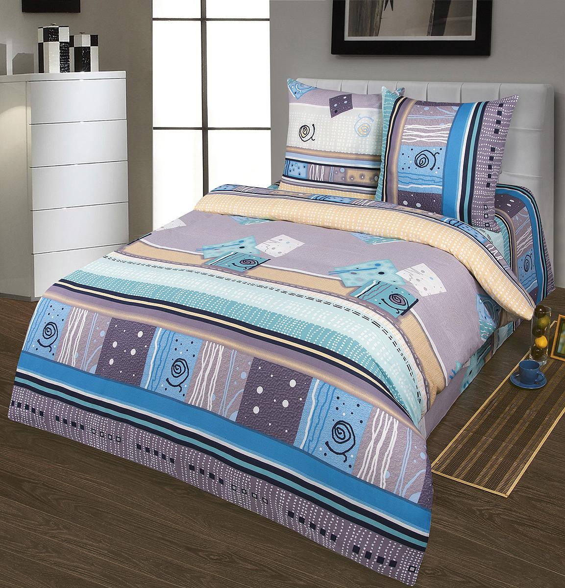 Комплект белья Шоколад Мираж, 1,5-спальный, наволочки 70x70. Б100Б100Комплект постельного белья Шоколад Мираж является экологически безопасным для всей семьи, так как выполнен из натурального хлопка. Комплект состоит из пододеяльника, простыни и двух наволочек. Постельное белье оформлено оригинальным рисунком и имеет изысканный внешний вид. Бязь - это ткань полотняного переплетения, изготовленная из экологически чистого и натурального 100% хлопка. Она прочная, мягкая, обладает низкой сминаемостью, легко стирается и хорошо гладится. Бязь прекрасно пропускает воздух и за ней легко ухаживать. При соблюдении рекомендуемых условий стирки, сушки и глажения ткань имеет усадку по ГОСТу, сохранятся яркость текстильных рисунков. Приобретая комплект постельного белья Шоколад Мираж, вы можете быть уверены в том, что покупка доставит вам и вашим близким удовольствие и подарит максимальный комфорт.