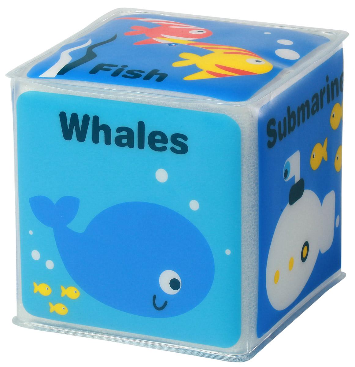 BabyOno Игрушка-кубик Морские животные895_морские животные