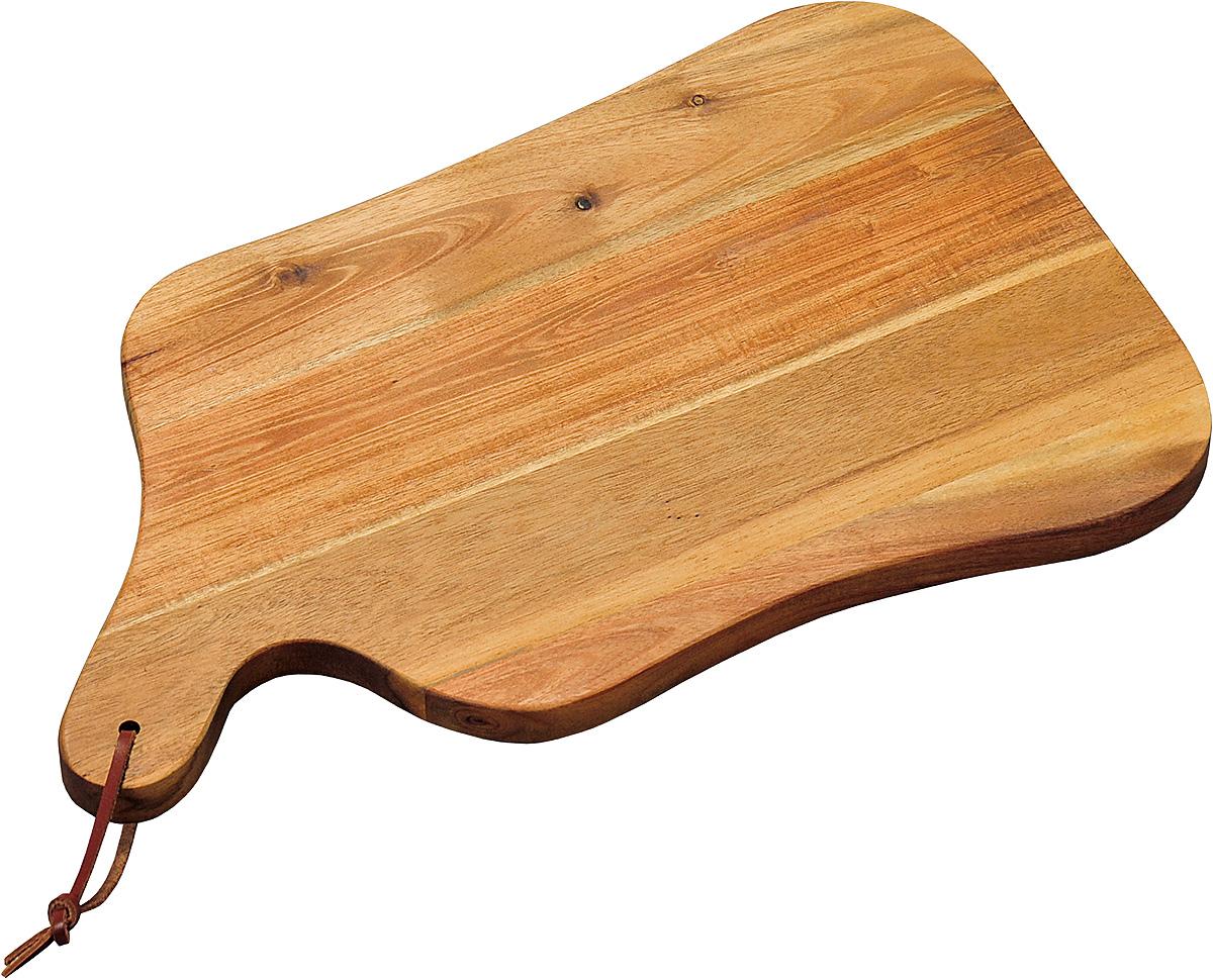 Доска разделочная Kesper, 37,5 х 23 х 1,8 см. 2860-12860-1Доска изготовлена из экологически чистого материала, дерево акация. Отлично подходит для нарезки пищи. Обладает высокой износостойкостью. Доска имеет удобную ручку.