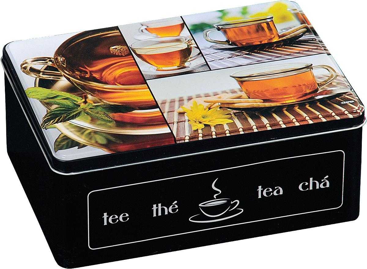 Коробка для чайных пакетиков Kesper, 20 х 8,5 х 16 см. 3820-63820-6Удобная коробка для хранения чая. Станет прекрасным дополнением декора для кухни.