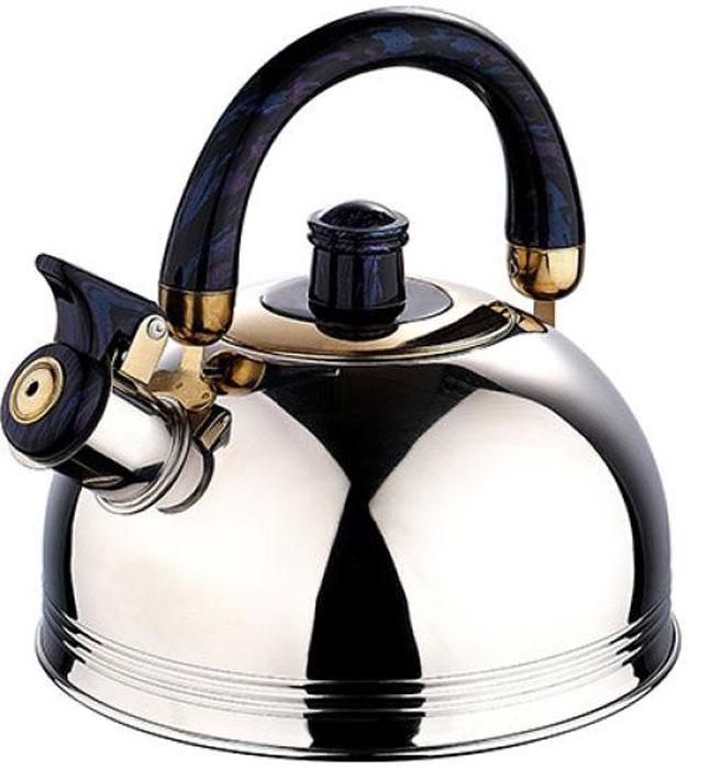 Чайник со свистком Wellberg, 2 л127 WBЧайник со свистком Wellberg, 2 л