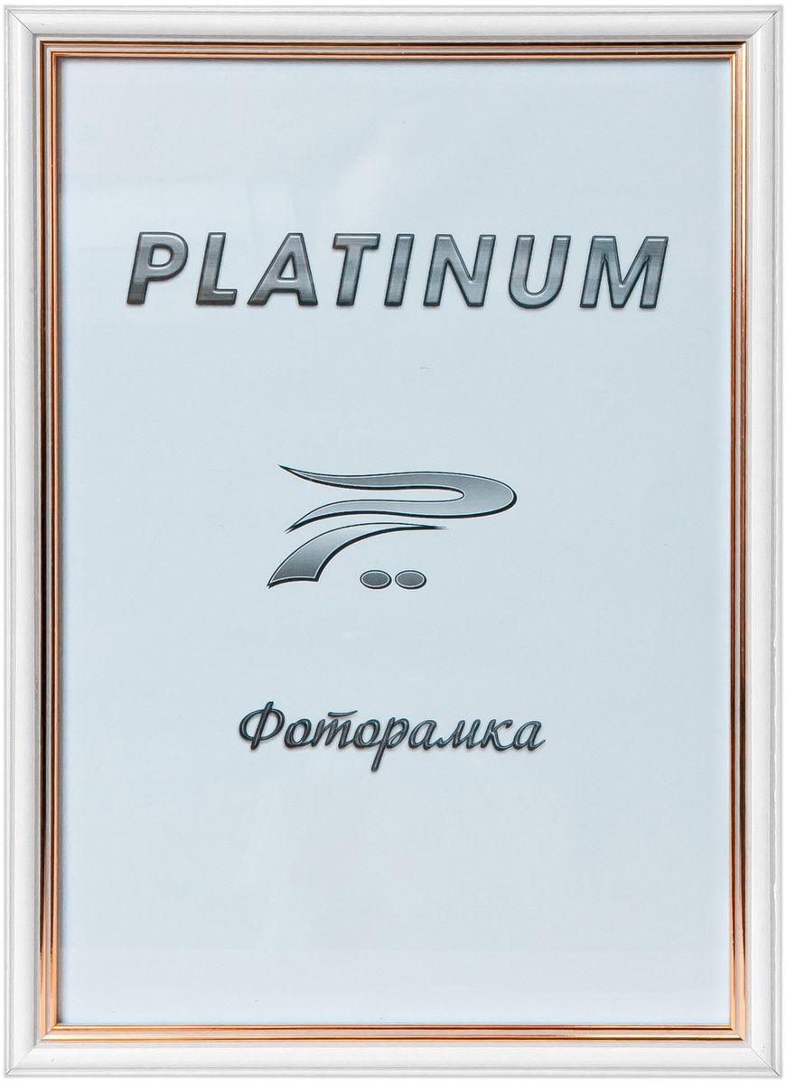Фоторамка Platinum Арона, цвет: белый, 10 x 15 смPlatinum 8020-1 АРОНА-БЕЛЫЙ 10x15