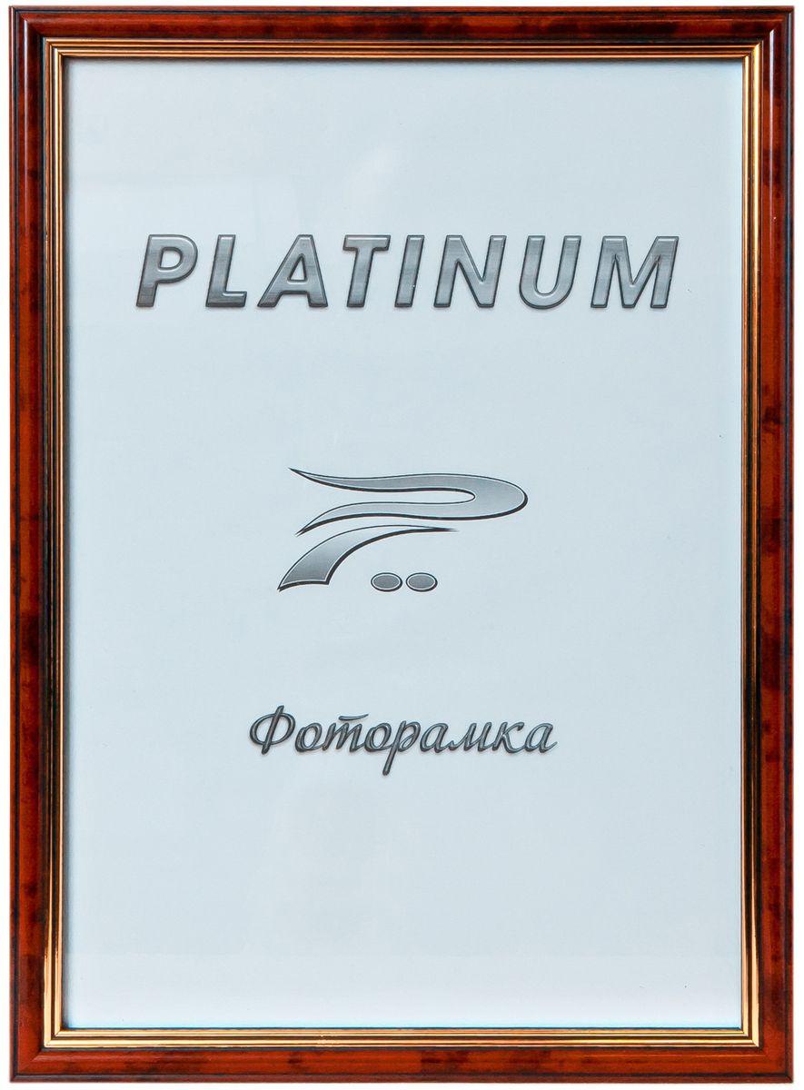 Фоторамка Platinum Арона, цвет: бордовый, 21 x 30 смPlatinum 8020-3 АРОНА-БОРДОВЫЙ 21x30