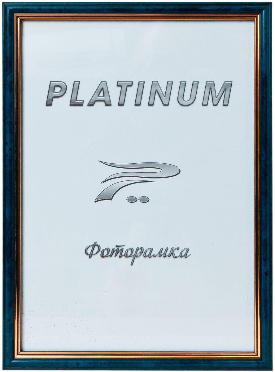 Фоторамка Platinum Арона, цвет: синий, 30 x 40 смPlatinum 8020-5 АРОНА-СИНИЙ 30x40