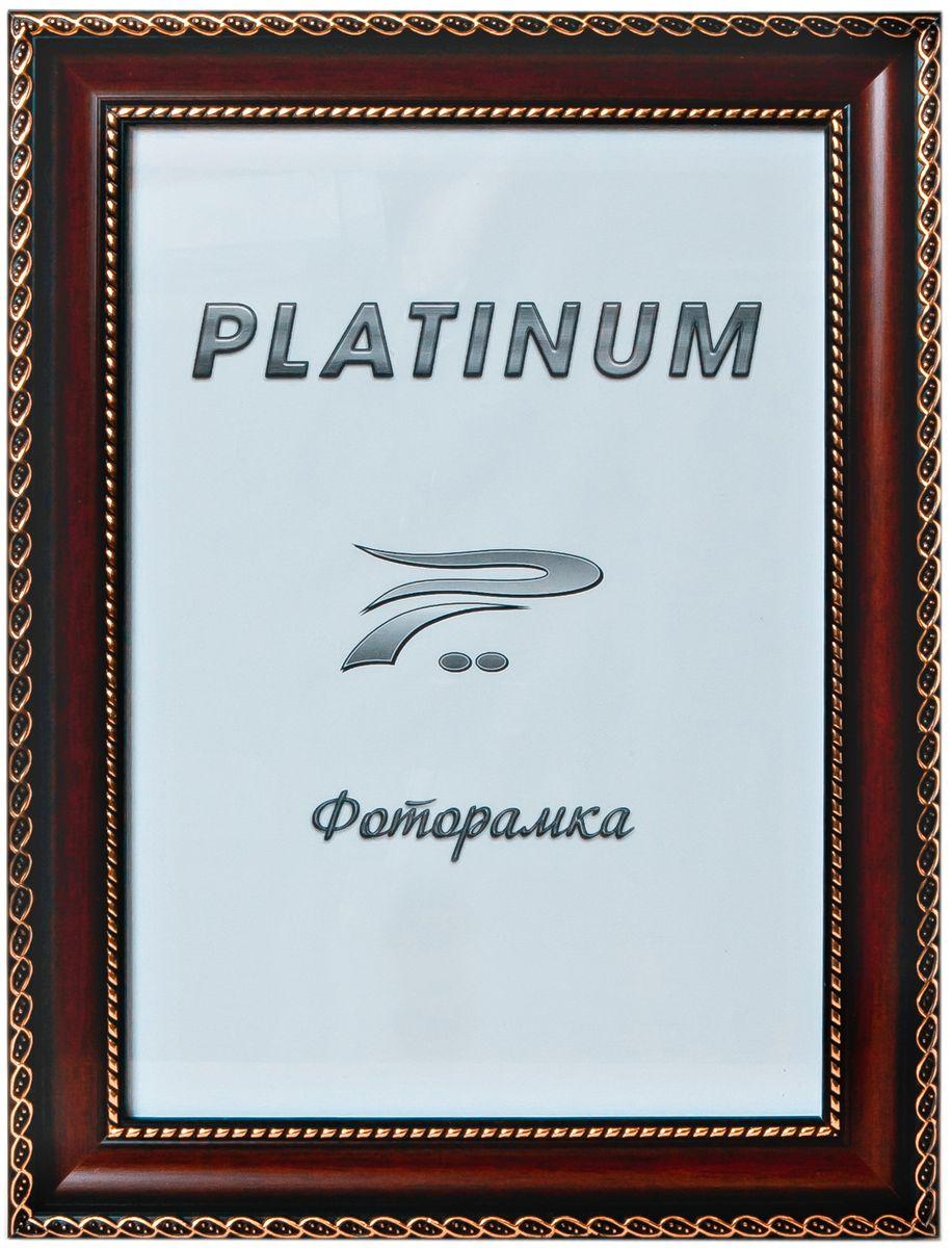 Фоторамка Platinum Верчелли, цвет: бордовый, 30 х 45 смPlatinum 8131 ВЕРЧЕЛЛИ-БОРДОВЫЙ 30x45Фоторамка Platinum выполнена в классическом стиле из пластика и стекла, защищающего фотографию. Оборотная сторона рамки оснащена специальной ножкой, благодаря которой ее можно поставить на стол или любое другое место в доме или офисе. Также изделие дополнено двумя специальными петлями для подвешивания на стену. Такая фоторамка поможет вам оригинально и стильно дополнить интерьер помещения, а также позволит сохранить память о дорогих вам людях и интересных событиях вашей жизни. Размер фотографии: 30 х 45 см.