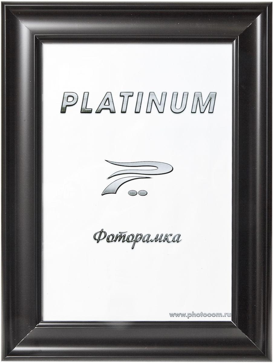 Фоторамка Platinum, цвет: черный, 21 x 30 см. JW100-1Platinum JW100-1-ЧЕРНЫЙ 21x30Фоторамка Platinum выполнена в классическом стиле из пластика и стекла, защищающего фотографию. Оборотная сторона рамки оснащена специальной ножкой, благодаря которой ее можно поставить на стол или любое другое место в доме или офисе. Также изделие дополнено двумя специальными петлями для подвешивания на стену. Такая фоторамка поможет вам оригинально и стильно дополнить интерьер помещения, а также позволит сохранить память о дорогих вам людях и интересных событиях вашей жизни.