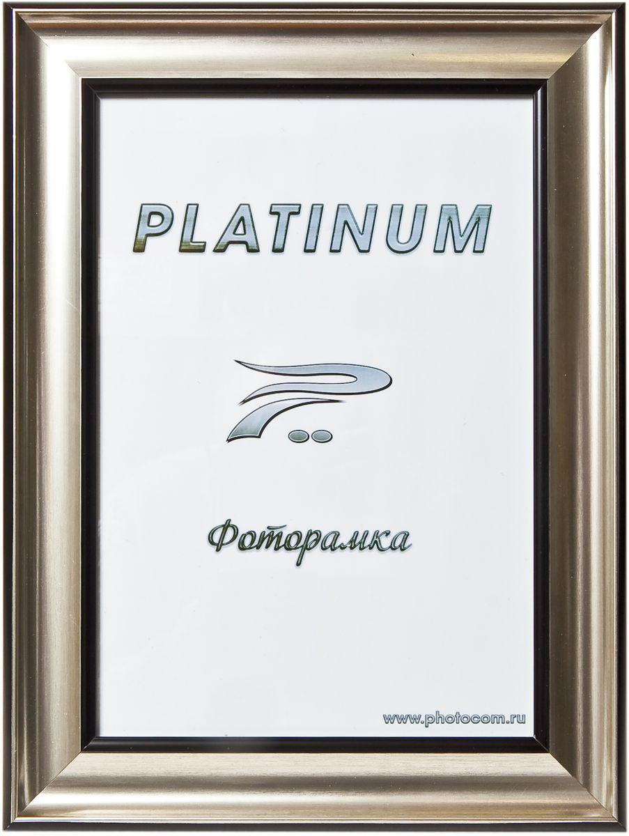 """Фоторамка """"Platinum"""", цвет: серебристый, 10 x 15 см. JW100-2"""