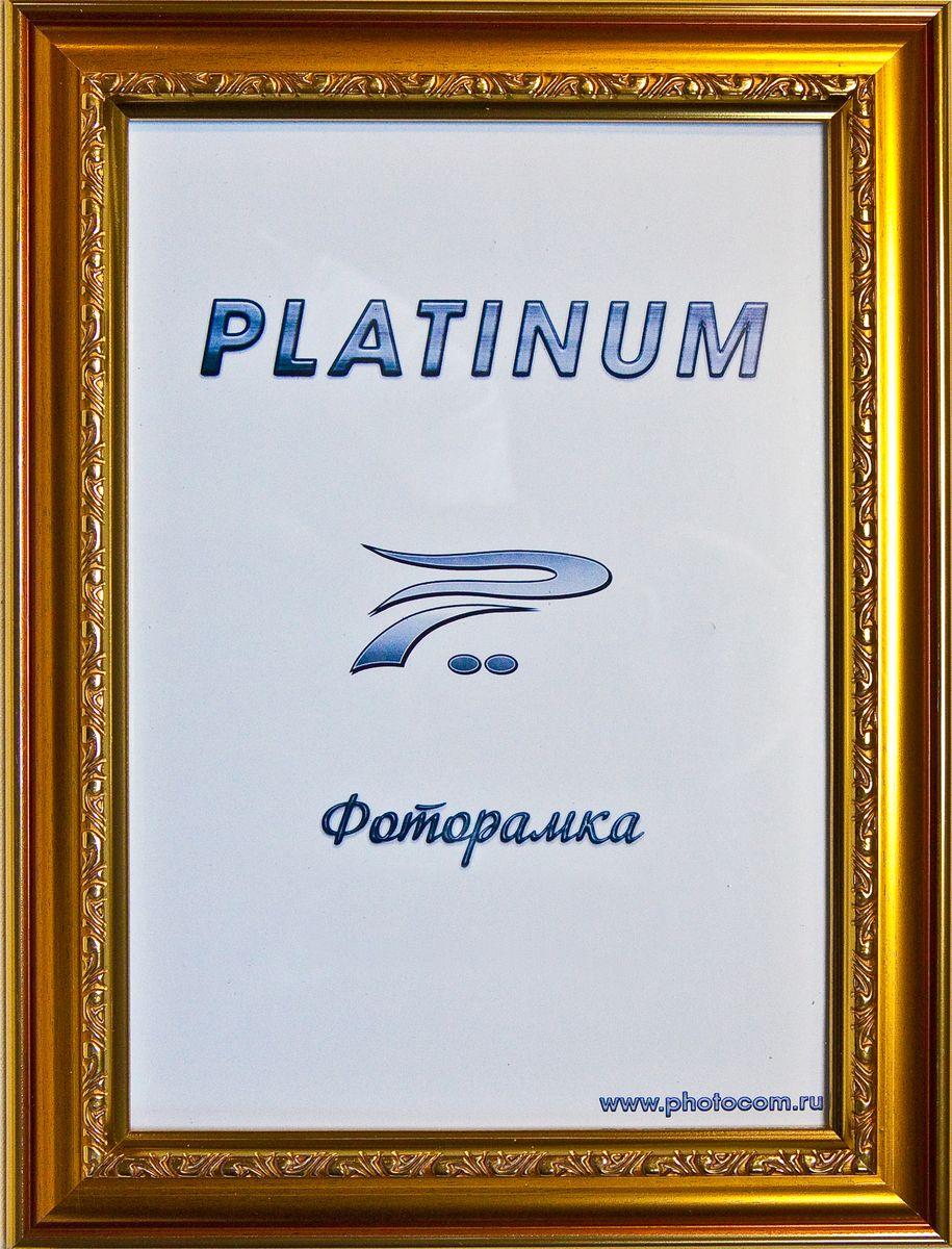 Фоторамка Platinum Пезаро, цвет: золотистый, 21 x 30 смPlatinum JW12-152 ПЕЗАРО-ЗОЛОТОЙ 21x30