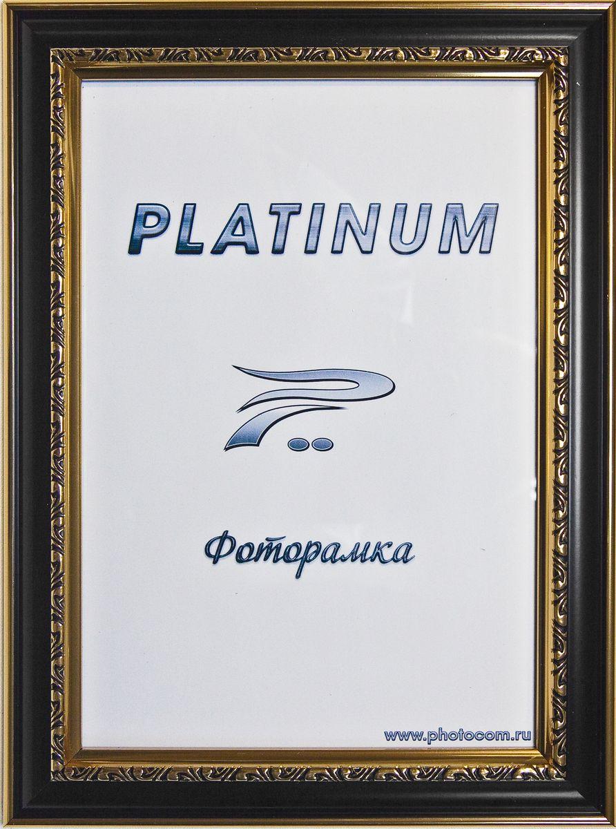 Фоторамка Platinum Пезаро, цвет: черный, 10 x 15 смPlatinum JW12-158 ПЕЗАРО-ЧЕРНЫЙ 10x15