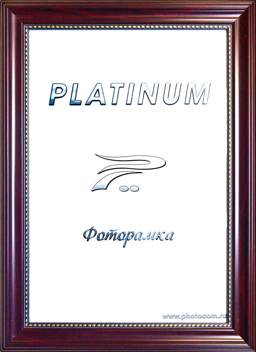 Фоторамка Platinum Турин, цвет: бордовый, 30 x 40 смPlatinum JW17-201 ТУРИН-БОРДОВЫЙ 30x40