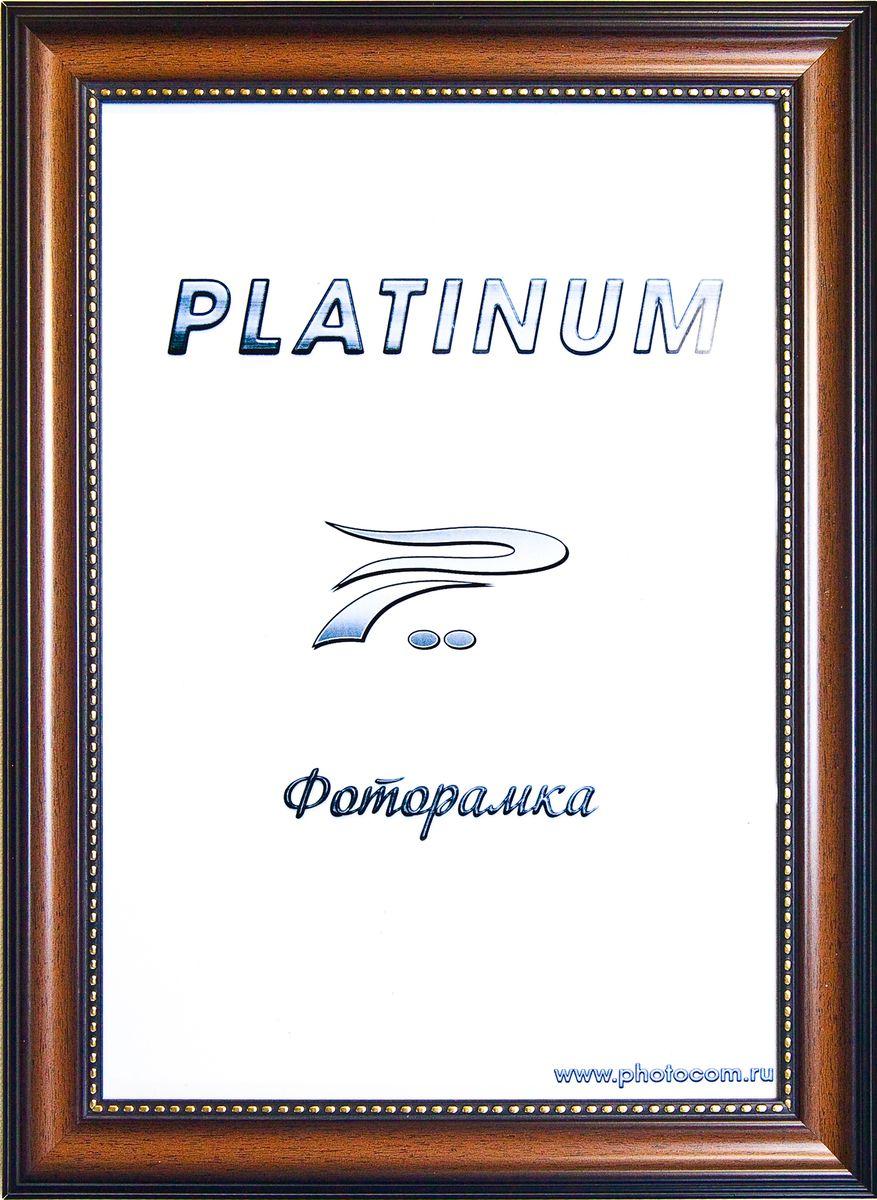 Фоторамка Platinum Турин, цвет: коричневый, 21 x 30 смPlatinum JW17-203 ТУРИН-КОРИЧНЕВЫЙ 21x30Фоторамка Platinum выполнена в классическом стиле из пластика и стекла, защищающего фотографию. Оборотная сторона рамки оснащена специальной ножкой, благодаря которой ее можно поставить на стол или любое другое место в доме или офисе. Также изделие дополнено двумя специальными петлями для подвешивания на стену. Такая фоторамка поможет вам оригинально и стильно дополнить интерьер помещения, а также позволит сохранить память о дорогих вам людях и интересных событиях вашей жизни.