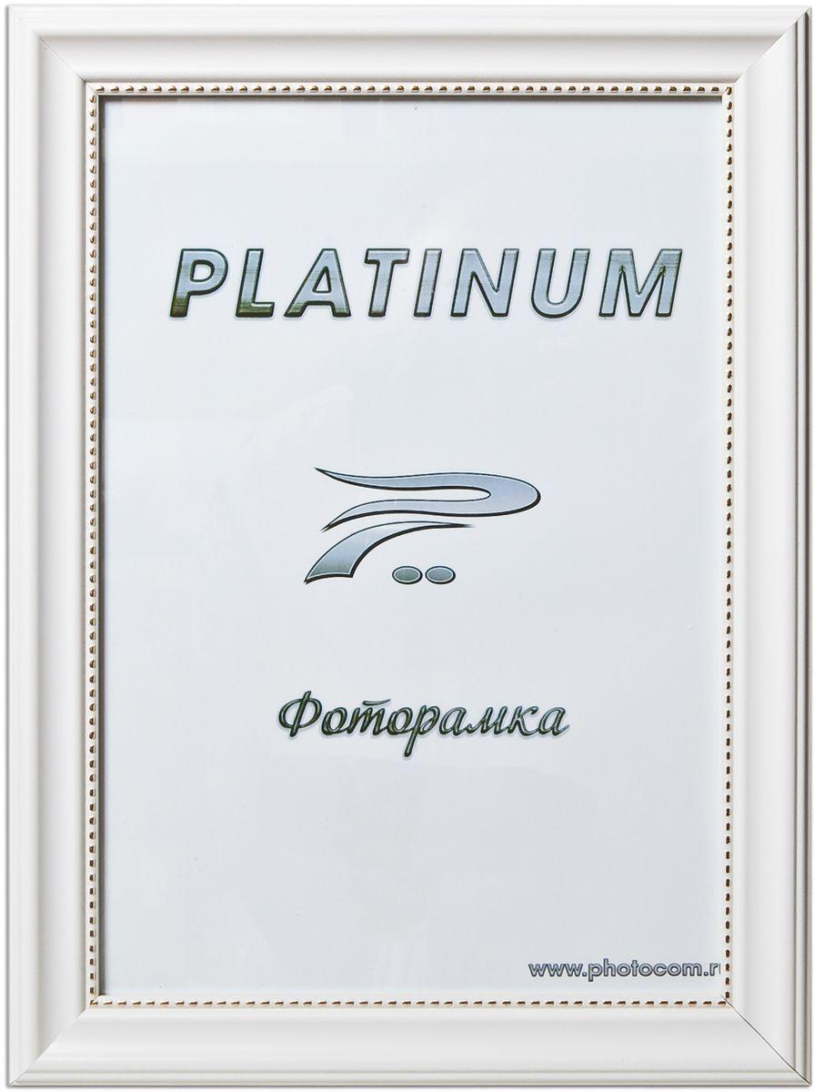 Фоторамка Platinum Турин, цвет: белый, 30 х 45 смPlatinum JW17-205 ТУРИН-БЕЛЫЙ 30x45