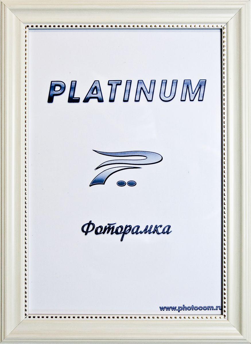 Фоторамка Platinum Турин, цвет: слоновая кость, 21 x 30 смPlatinum JW17-206 ТУРИН-СЛОНОВАЯ КОСТЬ 21x30