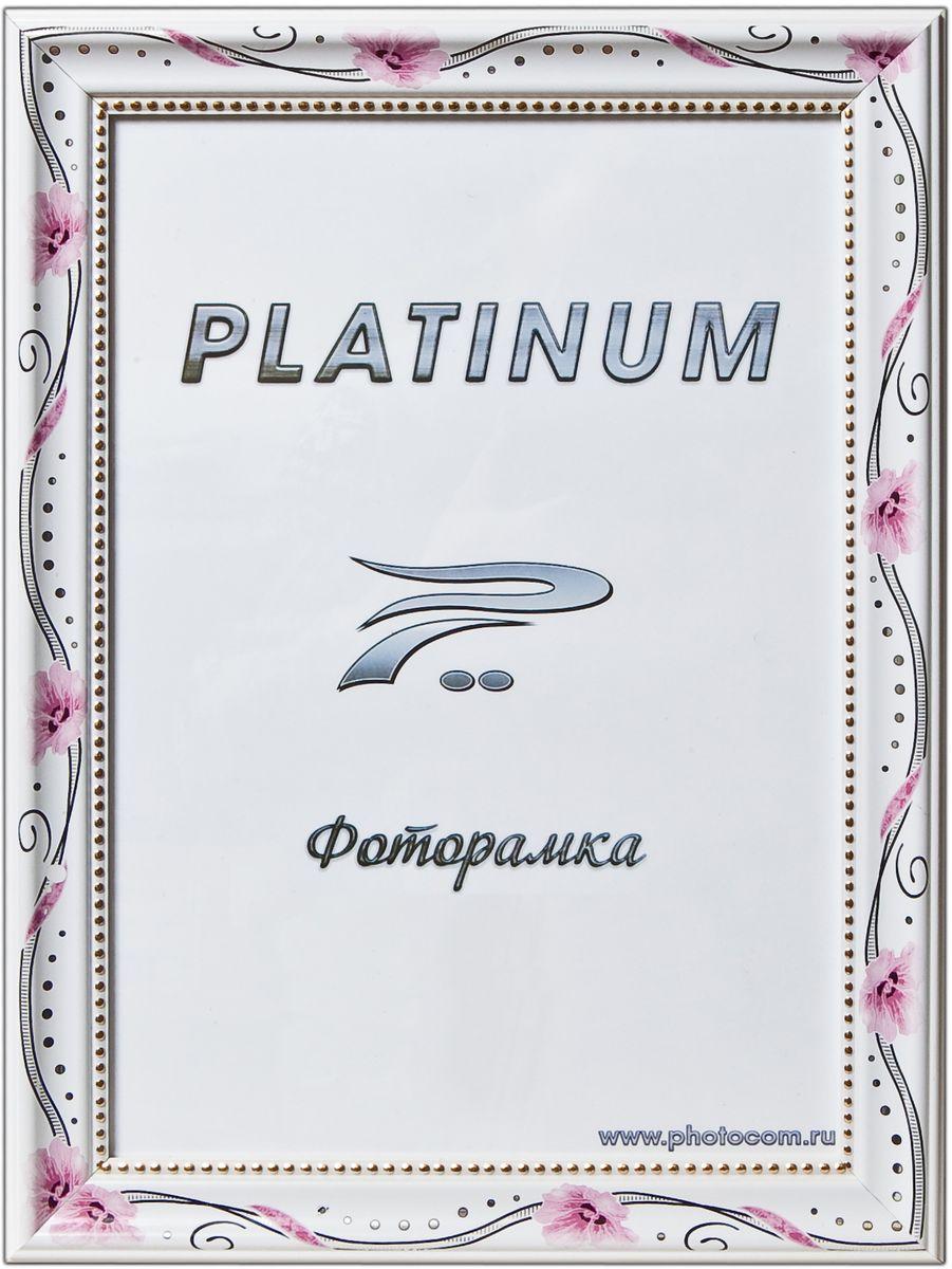 Фоторамка Platinum Турин, цвет: белый, красный, 30 х 45 смPlatinum JW17-210 ТУРИН-БЕЛЫЙ С КРАСНЫМИ ЦВЕТАМИ 30x45