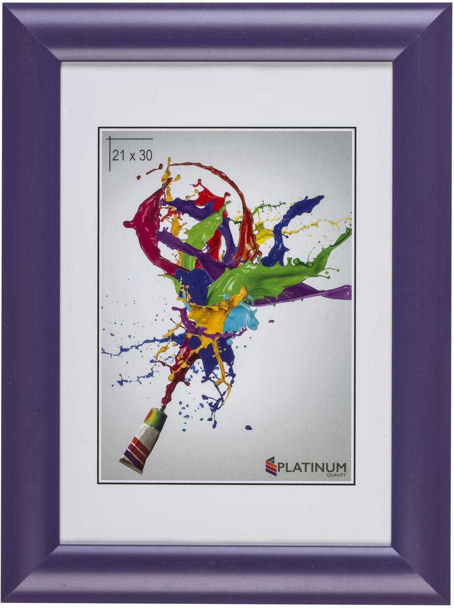 Фоторамка Platinum Аркола, цвет: фиолетовый, 15 x 21 смPlatinum JW2-007-006 АРКОЛА-ФИОЛЕТОВЫЙ 15x21