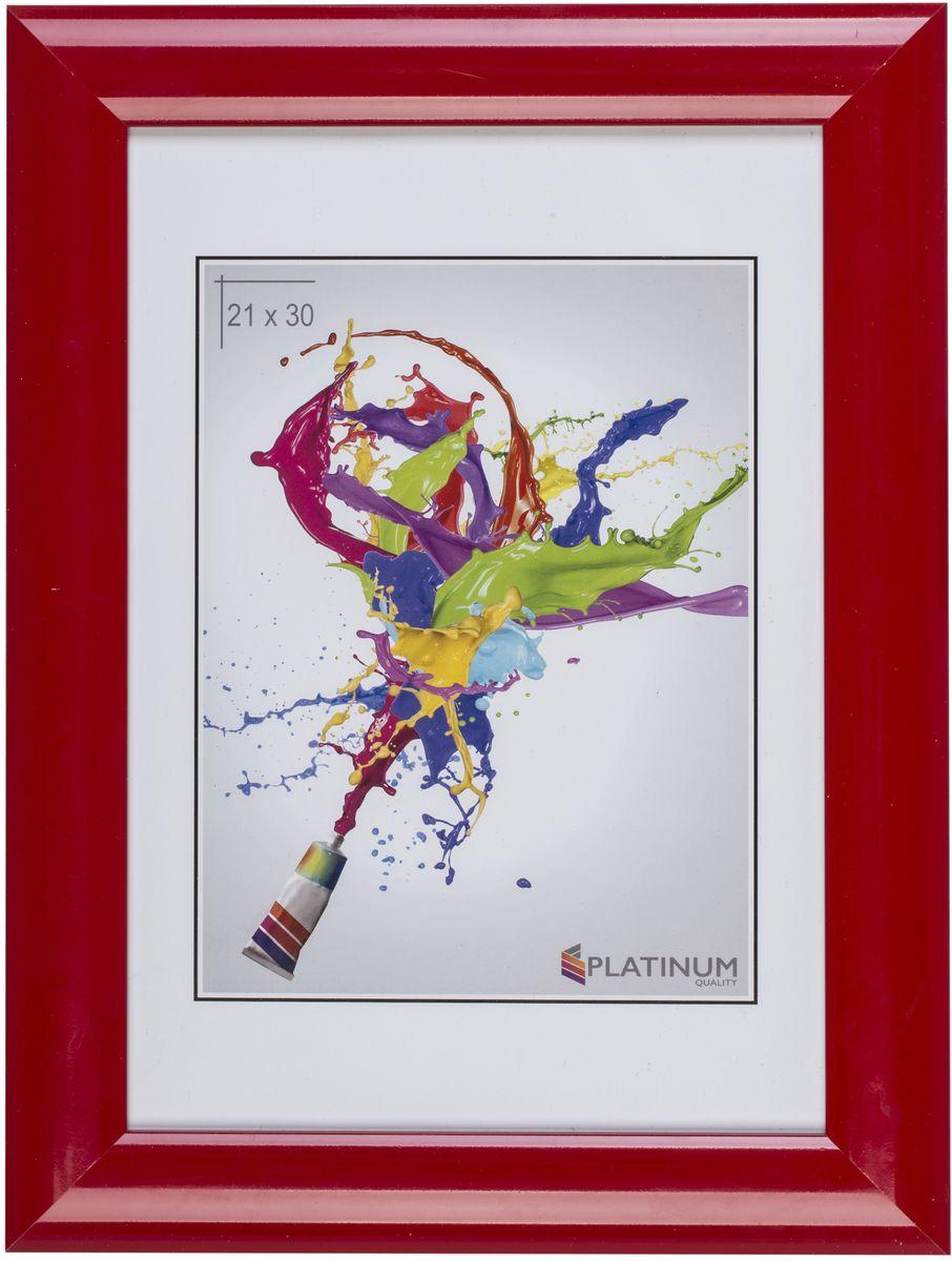 Фоторамка Platinum Аркола, цвет: красный, 10 x 15 смPlatinum JW2-017 АРКОЛА-КРАСНЫЙ 10x15