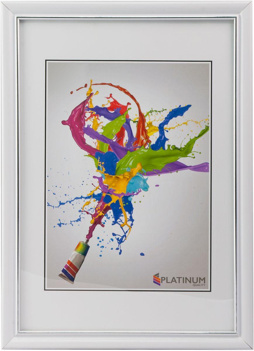 Фоторамка Platinum Анцио, цвет: белый, 15 x 21 смPlatinum JW25-00-10 АНЦИО-БЕЛЫЙ 15x21