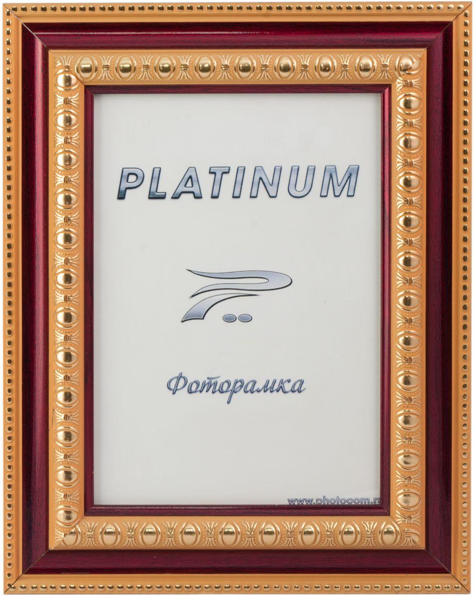 Фоторамка Platinum, цвет: бордовый, 15 x 21 см. JW48-3Platinum JW48-3-БОРДОВЫЙ 15x21