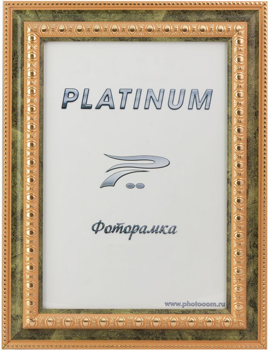 Фоторамка Platinum, цвет: зеленый, 10 x 15 см. JW48-5Platinum JW48-5-ЗЕЛЕНЫЙ 10x15Фоторамка Platinum выполнена в классическом стиле из пластика и стекла, защищающего фотографию. Оборотная сторона рамки оснащена специальной ножкой, благодаря которой ее можно поставить на стол или любое другое место в доме или офисе. Также изделие дополнено двумя специальными петлями для подвешивания на стену. Такая фоторамка поможет вам оригинально и стильно дополнить интерьер помещения, а также позволит сохранить память о дорогих вам людях и интересных событиях вашей жизни.