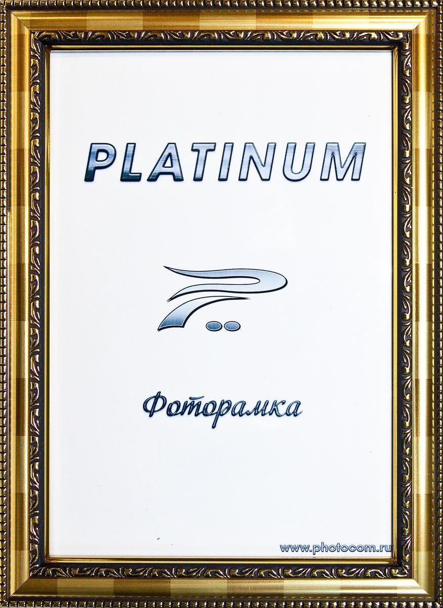 Фоторамка Platinum Монца, цвет: светло-золотистый, 30 x 40 смPlatinum JW61-007 МОНЦА-СВЕТЛОЕ ЗОЛОТО 30x40