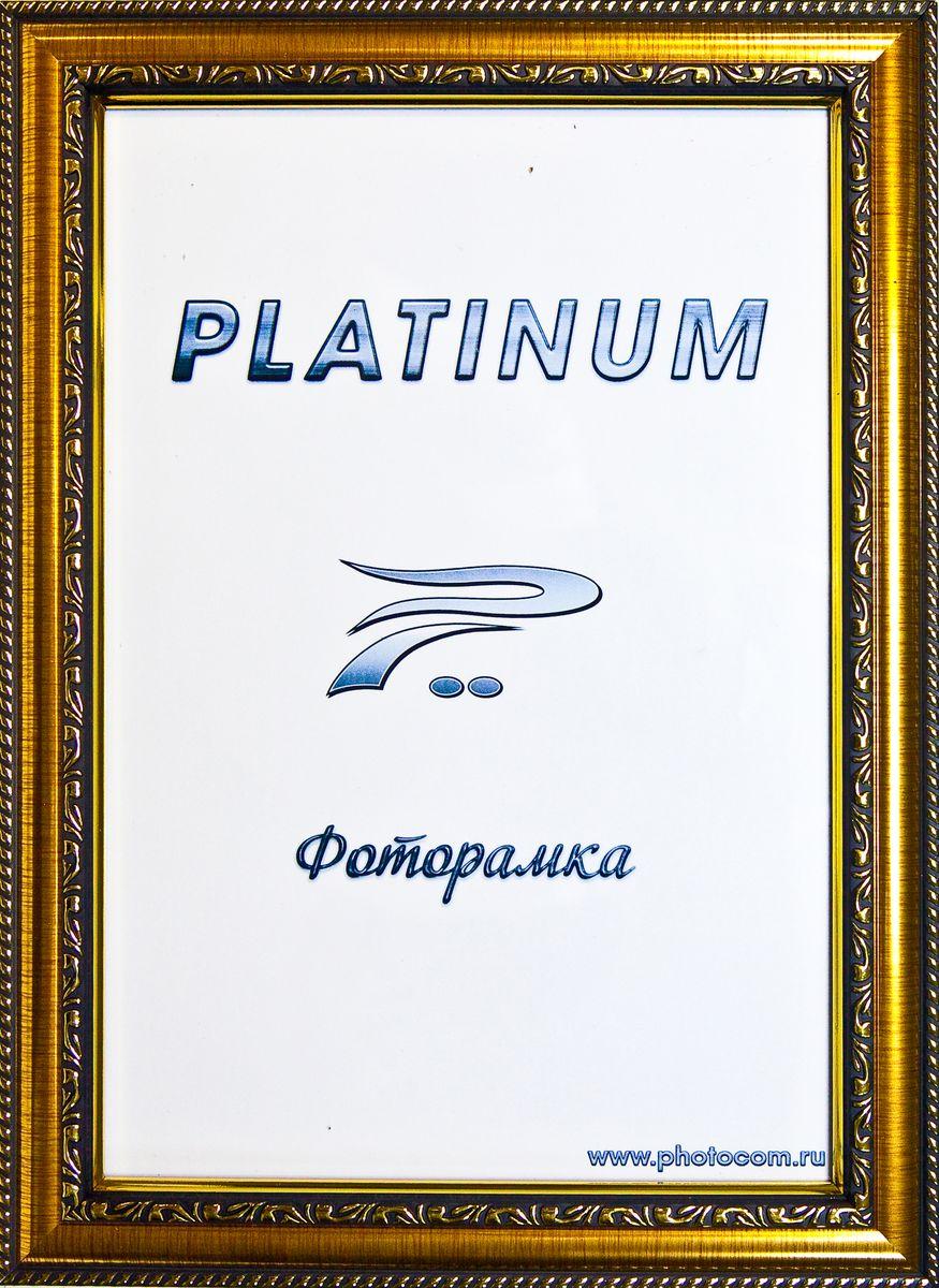Фоторамка Platinum Монца, цвет: золотистый, 10 x 15 смPlatinum JW61-5 МОНЦА-ЗОЛОТОЙ 10x15