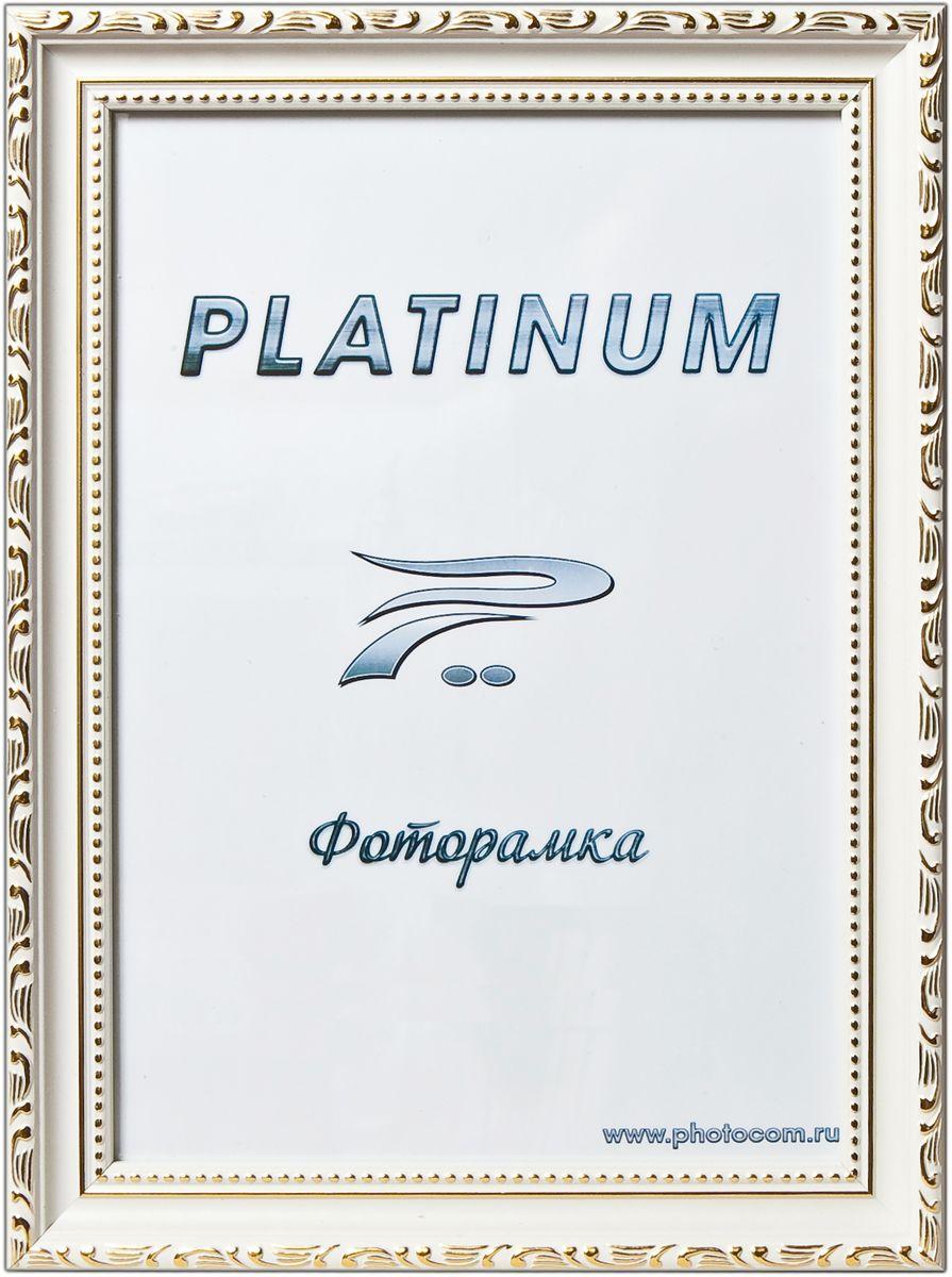 Фоторамка Platinum Римини, цвет: белый, 21 x 30 смPlatinum JW77-1 РИМИНИ-БЕЛЫЙ 21x30
