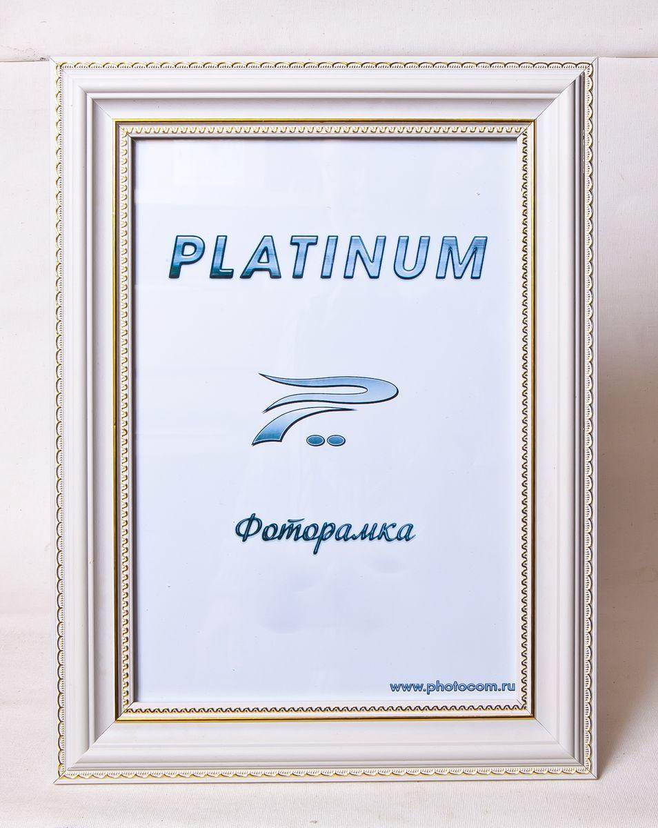 Фоторамка Platinum Неаполь, цвет: белый, 10 x 15 смPlatinum JW94-1 НЕАПОЛЬ-БЕЛЫЙ 10x15