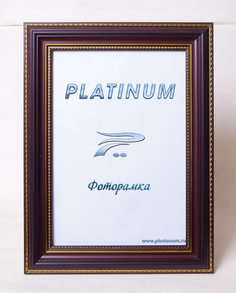 Фоторамка Platinum Неаполь, цвет: бордовый, 30 х 45 смPlatinum JW94-2 НЕАПОЛЬ-БОРДОВЫЙ 30x45Фоторамка Platinum выполнена в классическом стиле из пластика и стекла, защищающего фотографию. Оборотная сторона рамки оснащена специальной ножкой, благодаря которой ее можно поставить на стол или любое другое место в доме или офисе. Также изделие дополнено двумя специальными петлями для подвешивания на стену. Такая фоторамка поможет вам оригинально и стильно дополнить интерьер помещения, а также позволит сохранить память о дорогих вам людях и интересных событиях вашей жизни. Размер фотографии: 30 х 45 см.