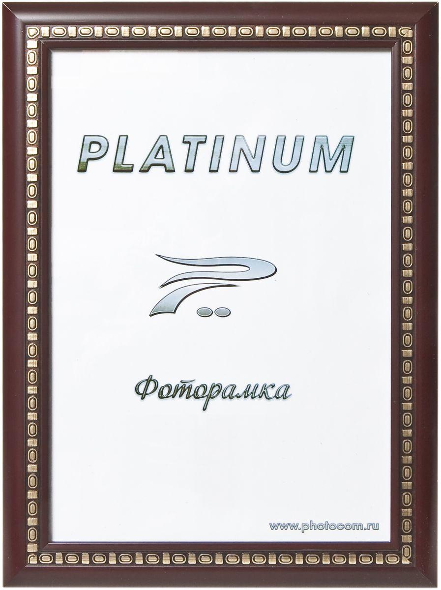 Фоторамка Platinum Пинето, цвет: бордовый, 10 x 15 смPlatinum JW97-2 ПИНЕТО-БОРДОВЫЙ 10x15