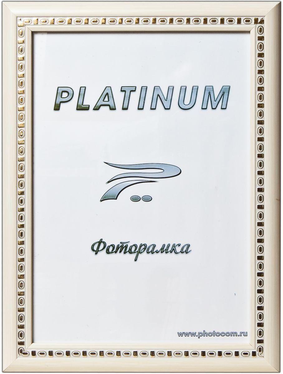Фоторамка Platinum Пинето, цвет: белый, 10 x 15 смPlatinum JW97-5 ПИНЕТО-БЕЛЫЙ 10x15