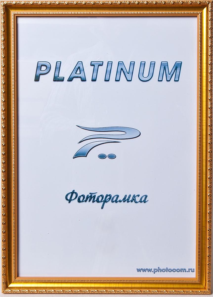 Фоторамка Platinum Болонья, цвет: золотистый, 10 x 15 смPlatinum JW62-1 БОЛОНЬЯ-ЗОЛОТОЙ 10x15
