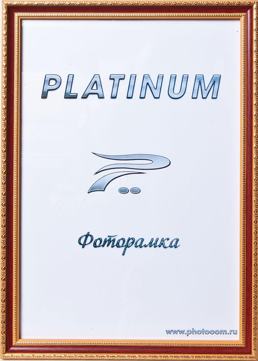 Фоторамка Platinum Болонья, цвет: красное дерево, 21 x 30 смPlatinum JW62-3 БОЛОНЬЯ-КРАСНОЕ ДЕРЕВО 21x30