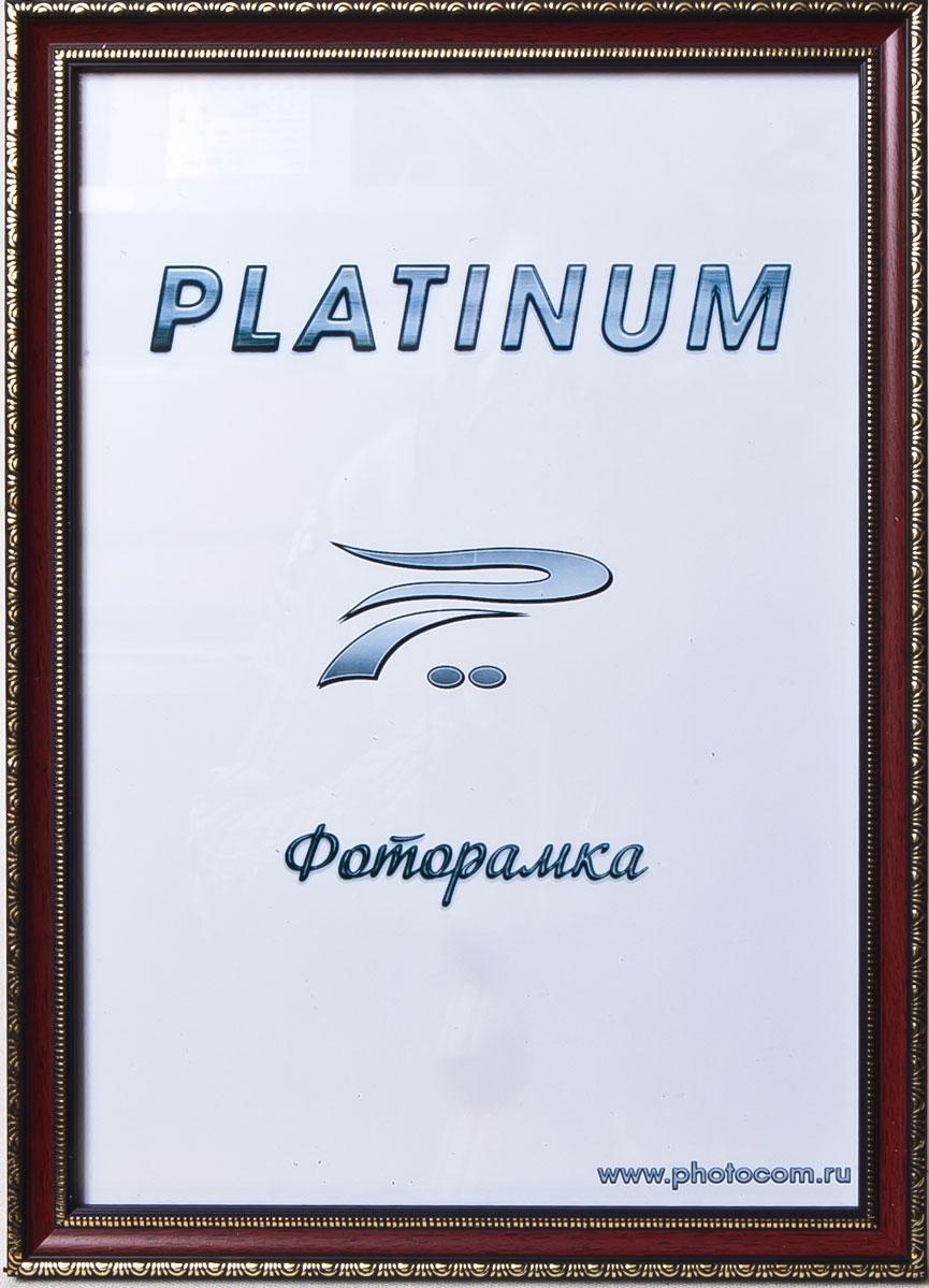 Фоторамка Platinum Болонья, цвет: бордовый, 21 x 30 смPlatinum JW62-5 БОЛОНЬЯ-БОРДОВЫЙ 21x30
