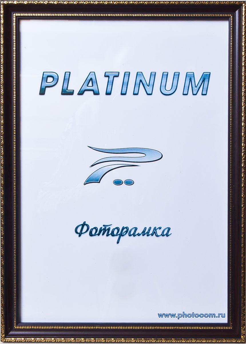 Фоторамка Platinum Болонья, цвет: коричневый, 21 x 30 смPlatinum JW62-6 БОЛОНЬЯ-КОРИЧНЕВЫЙ 21x30