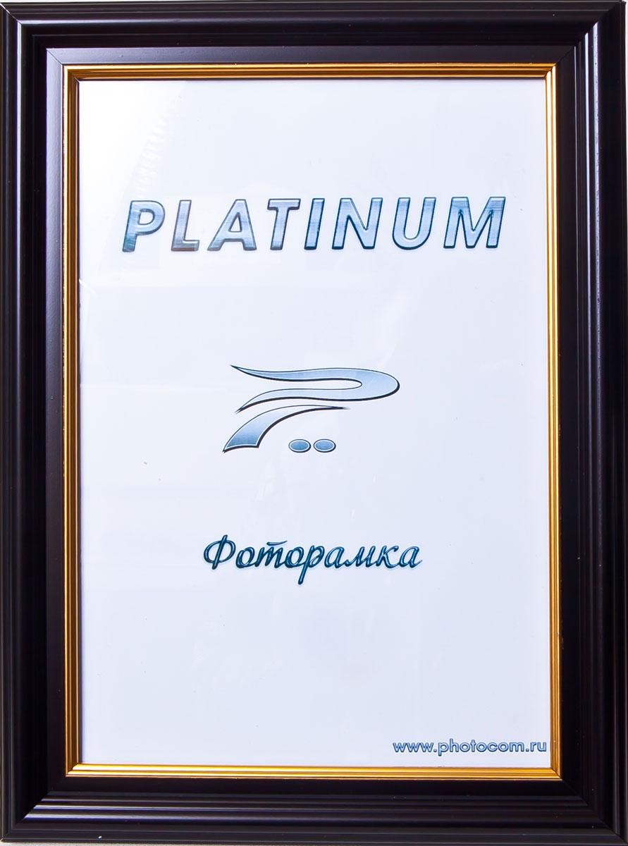 Фоторамка Platinum Палермо, цвет: черный, 21 x 30 смPlatinum JW83-3 ПАЛЕРМО-ЧЕРНЫЙ 21x30