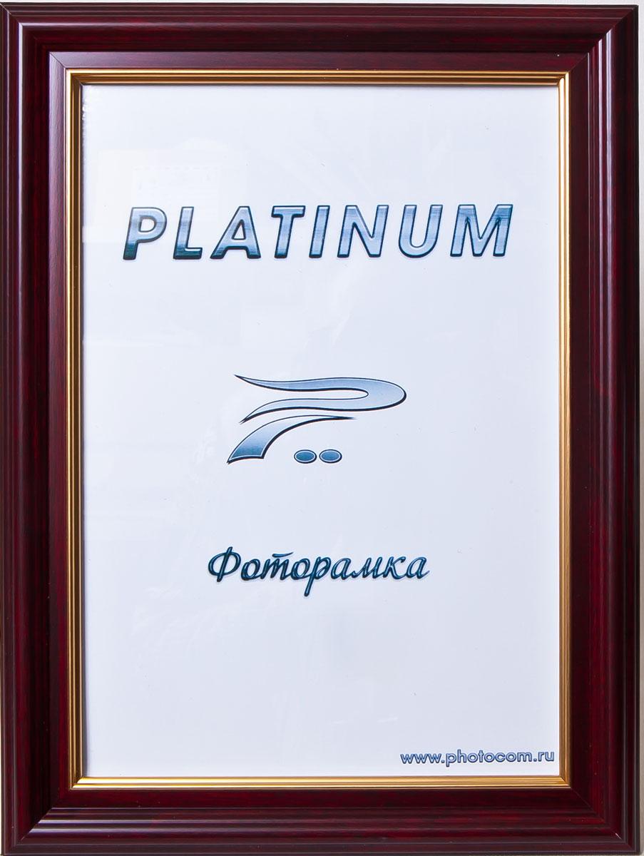 Фоторамка Platinum Палермо, цвет: бордовый, 21 x 30 смPlatinum JW83-4 ПАЛЕРМО-БОРДОВЫЙ 21x30