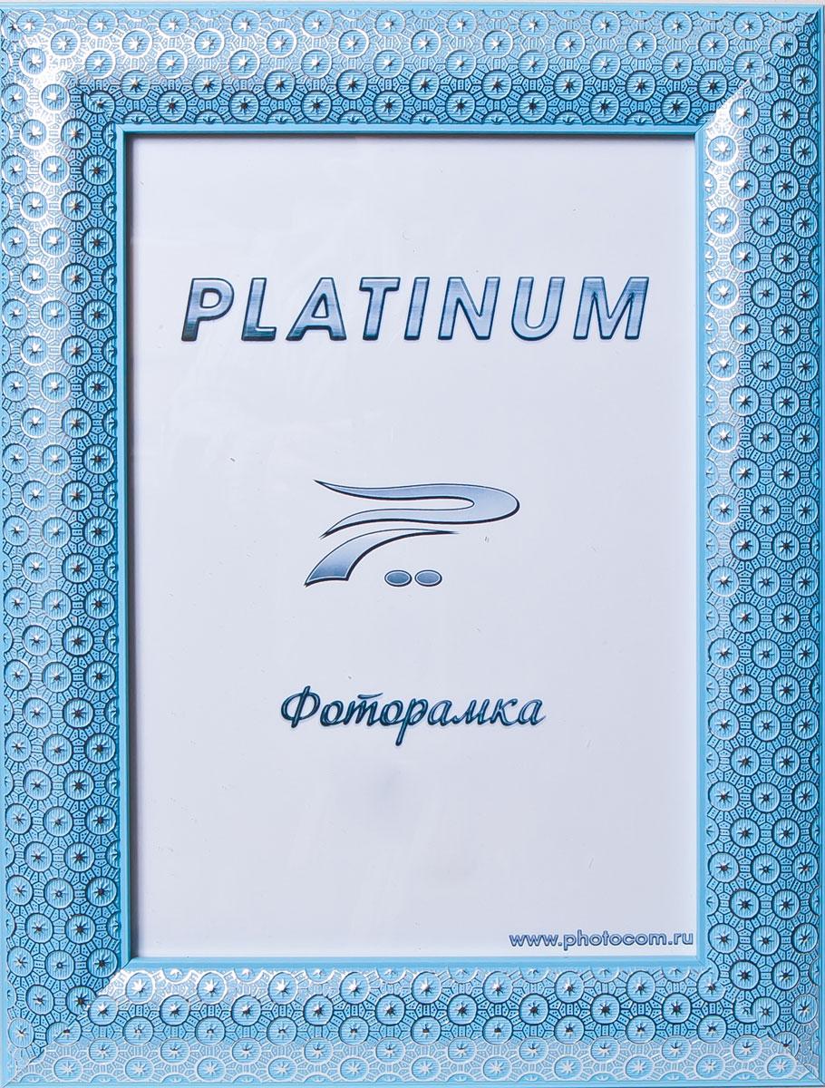 Фоторамка Platinum Флоренция, цвет: синий, 15 x 21 смPlatinum JW84-2 ФЛОРЕНЦИЯ-СИНИЙ 15x21