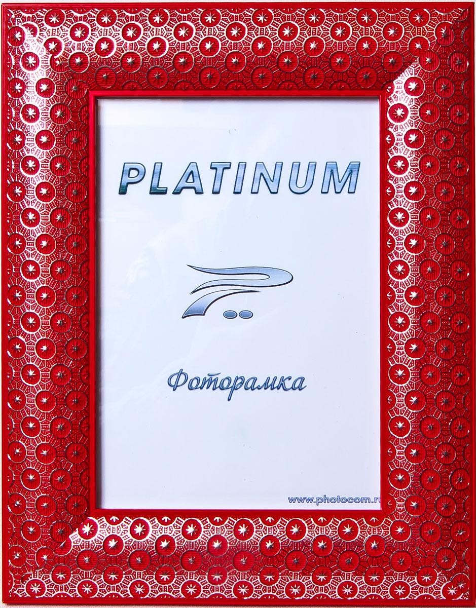Фоторамка Platinum Флоренция, цвет: красный, 10 x 15 смPlatinum JW84-3 ФЛОРЕНЦИЯ-КРАСНЫЙ 10x15