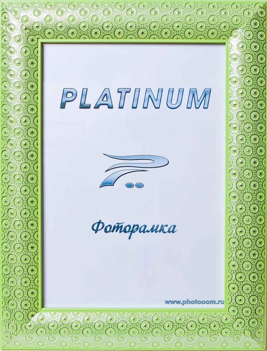 Фоторамка Platinum Флоренция, цвет: зеленый, 15 x 21 смPlatinum JW84-4 ФЛОРЕНЦИЯ-ЗЕЛЕНЫЙ 15x21