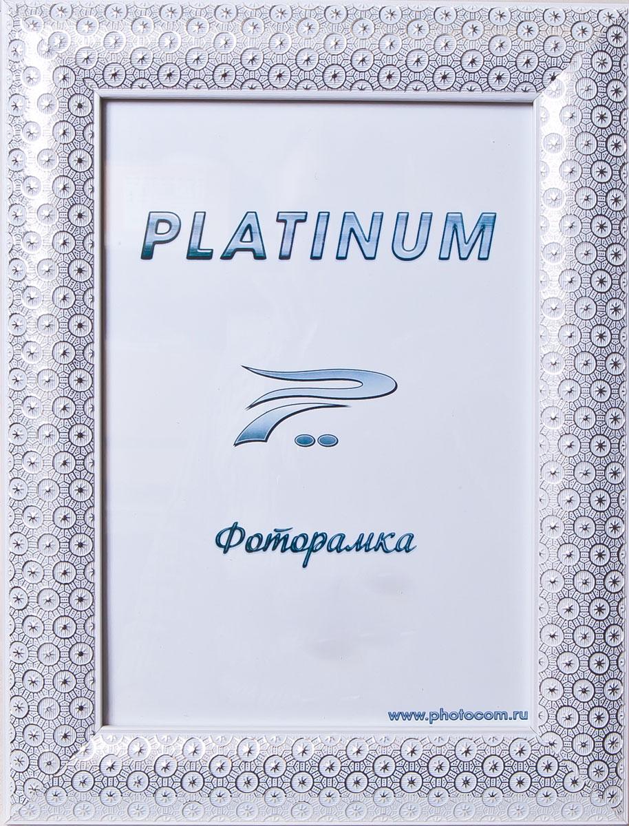 Фоторамка Platinum Флоренция, цвет: белый, 21 x 30 смPlatinum JW84-6 ФЛОРЕНЦИЯ-БЕЛЫЙ 21x30