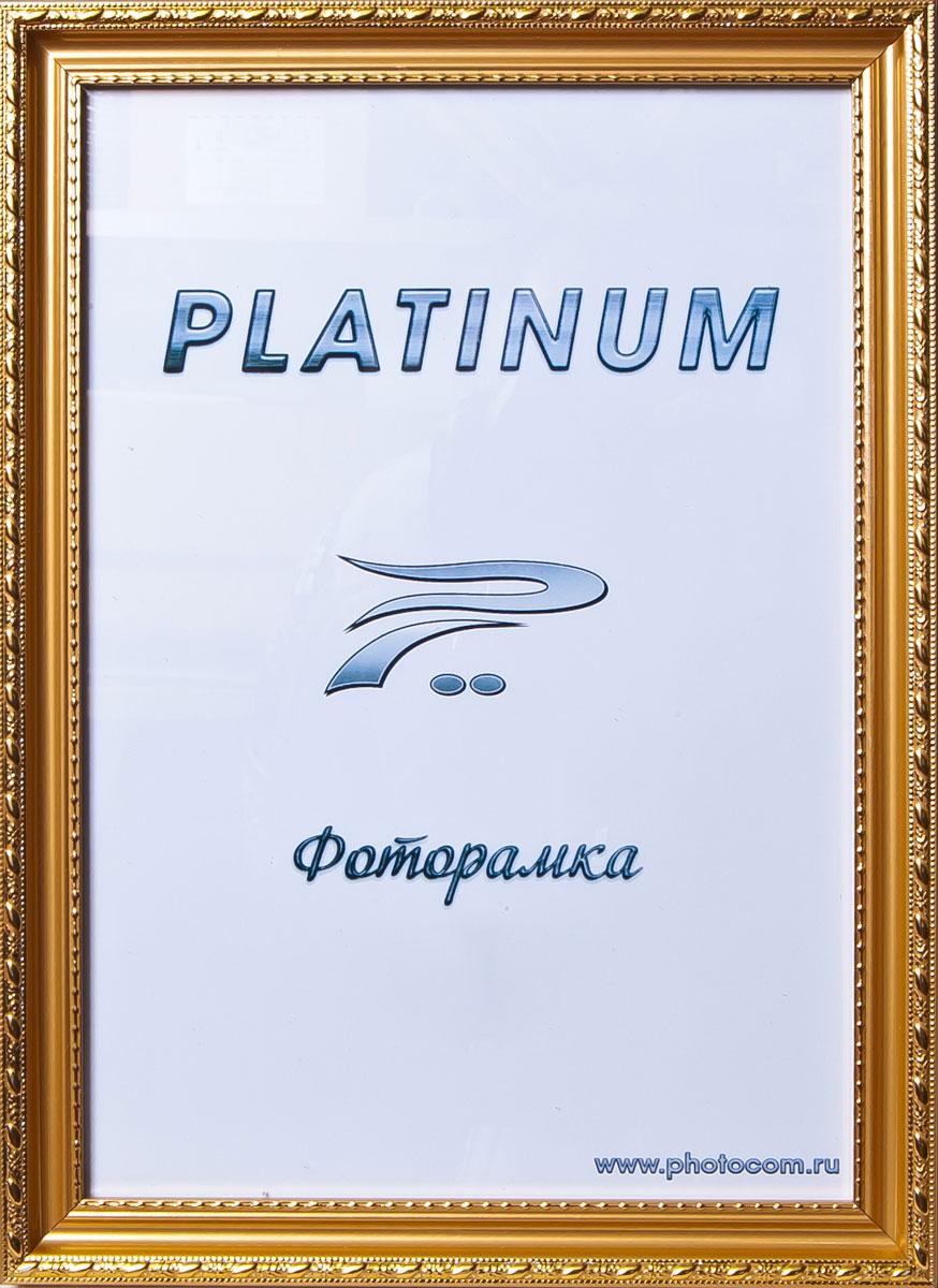 Фоторамка Platinum Венеция, цвет: золотистый, 30 x 40 смPlatinum JW98-1 ВЕНЕЦИЯ-ЗОЛОТОЙ 30x40